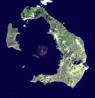 <tt>Santorini Landsat by NASA via Wikipedia  Commons</tt>
