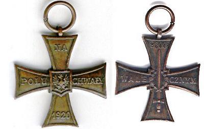 <tt>Krzyz Walecznych 1920 via Wikimedia commons</tt>