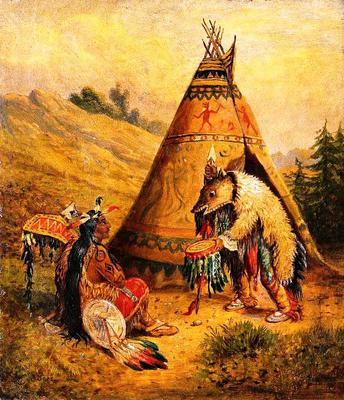 <tt>An American Indian Medicine Man</tt>