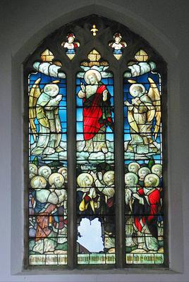 <tt>St George's church - stained glass window - geograph.org.uk - 846807 by Evelyn Simak via Wikimedia Commons<tt>