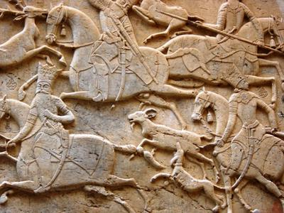 <tt>Qajari relief via Wikimedia Commons</tt>