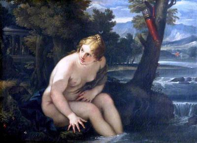 <tt>Diana Bathing by Pietro Antonio de Pietri</tt>