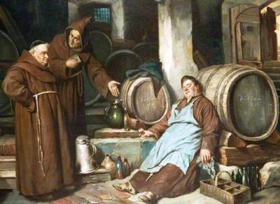 <tt>Monks in a Cellar by Joseph Haier</tt>