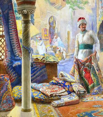 <tt>The rug merchant by Amedeo Simonetti  via Wikimedia Commons</tt>