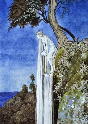 The Waterfall Fairy by Ida Rentoul Outhwaite via Wikimedia Commons</tt>