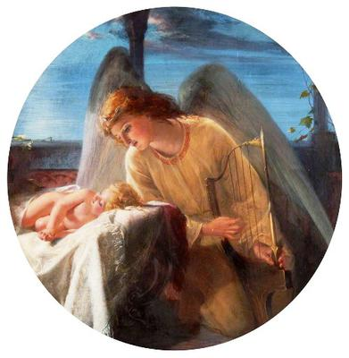 <tt>Who still in dreams can hear the heavenly harps by Robert Herdman</tt>