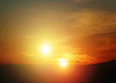 <tt>Sunrise and sunset.  Nasa.gov</tt>