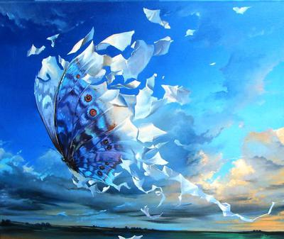 <tt>Effect of Butterfly by Anastasiya Markovich via Wikimedia Commons</tt>