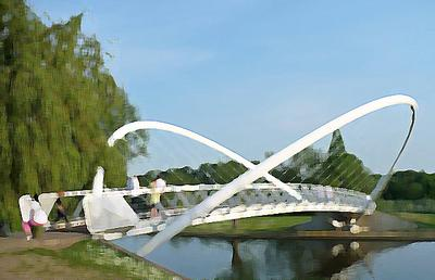 <tt>Butterfly Bridge by Robin Drayton via Wikimedia Commons modified</tt>