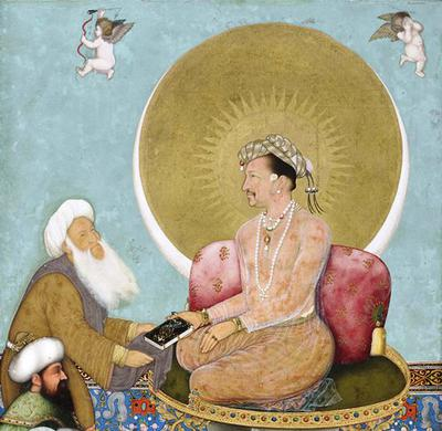 <tt>Jahangir with sufi by Bichitr via Wikimedia Commons</tt>