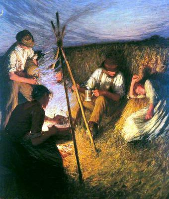 <tt>The Harvesters Supper by Henry Herbert La Thangue</tt>