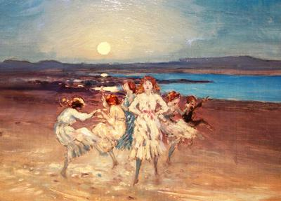 <tt>Children Dancing on the Strand by George William Russell via Wikimedia Commons</tt>