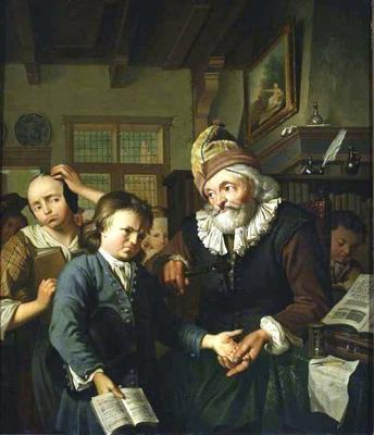 <tt>School-teacher by Lubieniecki via Wikimedia Commons</tt>