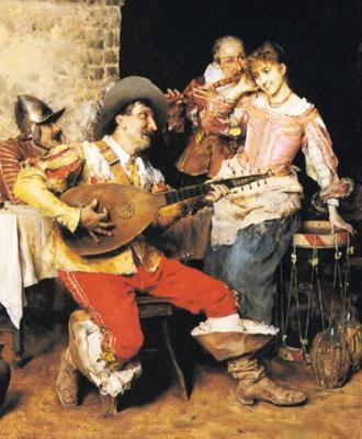 <tt>The Serenade by Federico Andreotti via Wikimedia Commons</tt>