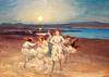 <tt>Children Dancing on the Strand by George William Russell via Wikimedia Commons