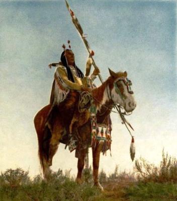 <tt>Apsaroka Horse by Edward S Curtis via Wikimedia Commons</tt>